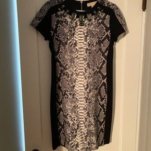 MICHAEL Michael Kors Snake Print Dress